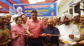 300 UNITS OF BLOOD DONATED IN JAMMU