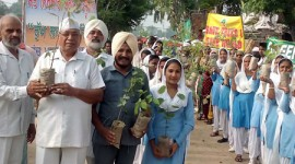 CLEANLINESS DRIVE AND TREE PLANTATION CARRIED OUT AT PREET NAGAR IN PUNJAB