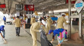 SWACHH RAIL- SWACHH BHARAT ABHIYAN, SNCF CARRIES OUT THE 8TH PHASE