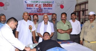 189 NIRANKARI DEVOTEES DONATE BLOOD AT PAONTA SAHIB IN HIMACHAL PRADESH