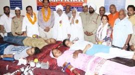 437 NIRANKARI DEVOTEES DONATE BLOOD AT DERABASSI IN PUNJAB