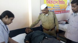 102 UNITS OF BLOOD DONATED AT DAMOH IN MADHYA PRADESH