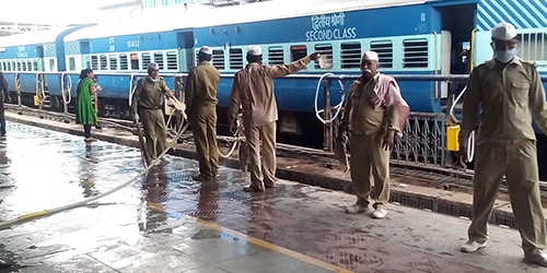 CLEANLINESS DRIVE HELD IN JAIPUR