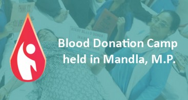 171 Devotees Donate Blood in Mandla, M.P.
