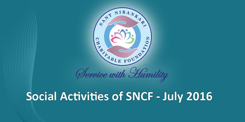 Social Activities of SNCF - July 2016