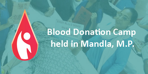 171 Devotees Donate Blood in Mandla, M.P.