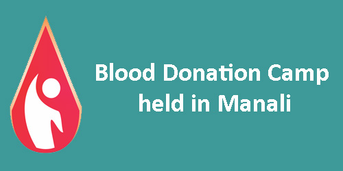 111 Units of Blood Donated in Manali