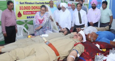 483 UNITS OF BLOOD DONATED IN MOHALI NEAR CHANDIGARH