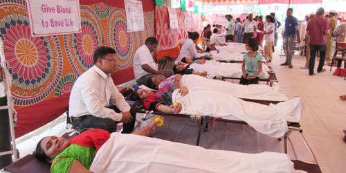 BLOOD DONATION CAMP AT RUPI NAGAR (PUNE) - Sant Nirankari Charitable