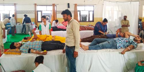 SNCF organizes Blood Donation Camp at Rupnagar (Punjab) - Sant